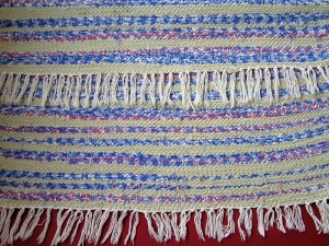 Koberec ručne tkaný, predložka, do 100 cm, 4 €, Majka Schlezová 1