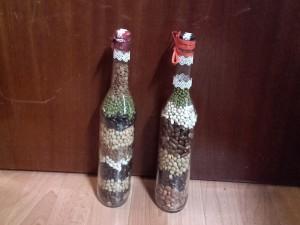 dekoratívne fľaše