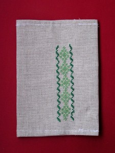 obal na knihu s výšivkou, 3 €, šitie a vyšívania, Janka Biskupičová, Katka švihranová