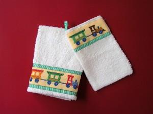 ozdobný uterák so žinkou, 4 €, šitie a vyšívanie, Anka Lakatošová 1