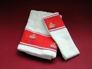 ozdobný uterák so žinkou, 4 €, šitie a vyšívanie, Anka Lakatošová